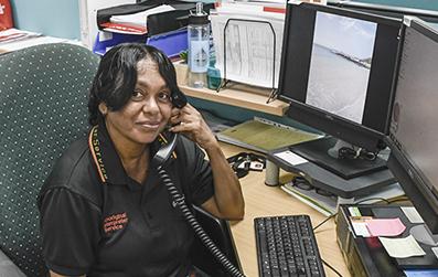 Photo of AIS interpreter Sylvia